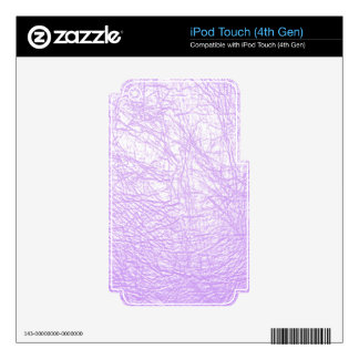 pink leather texture ipod touch skin