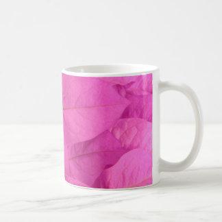 Pink Leaves Coffee Mug
