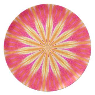 Pink Lemon Lily Plate