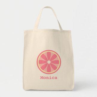 Pink Lemon Slice Bag