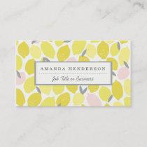 Pink Lemonade Business Cards