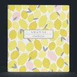 "Pink Lemonade by Origami Prints Custom Binder<br><div class=""desc""></div>"