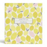 Pink Lemonade by Origami Prints Custom Binder