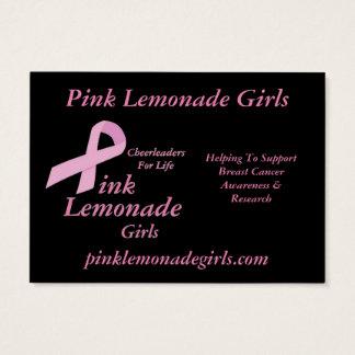 Pink Lemonade Girls Business Card