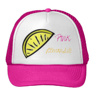 Pink Lemonade Trucker Hat