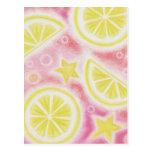 Pink Lemonade 'Lemons' postcard