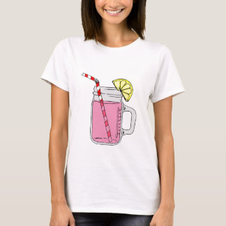 Pink Lemonade Mason Jar T-Shirt