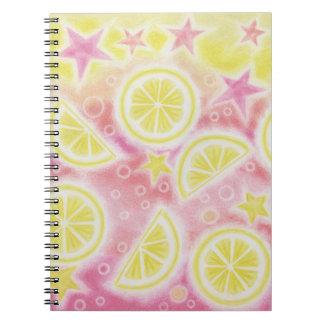 Pink Lemonade notebook