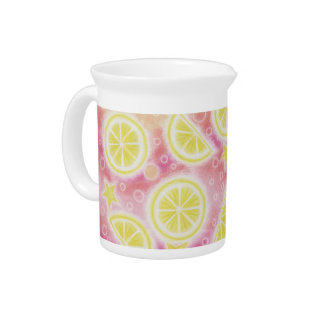 Pink Lemonade pitcher
