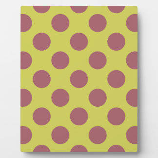 Pink Lemonade Polkadots Plaque