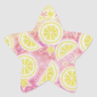 Pink Lemonade sticker star