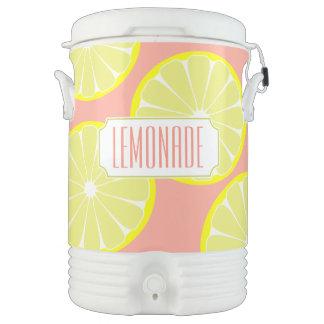Pink Lemonade Summer Party Cooler