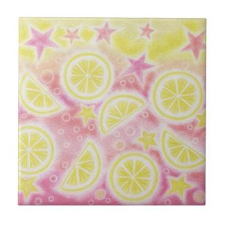 Pink Lemonade tile