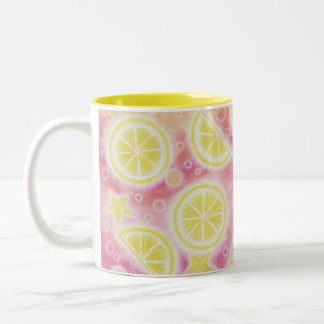 Pink Lemonade two-tone mug