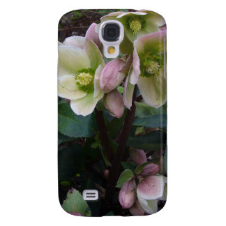 Pink Lenten Rose Samsung Galaxy S4 Covers