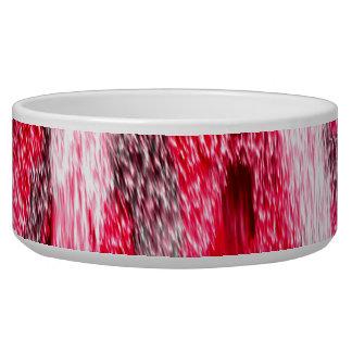 Pink leopard animal print pet food bowls