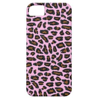 Pink Leopard Fur iPhone SE/5/5s Case