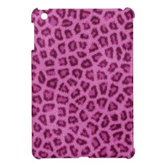 Pink Leopard Fur Print iPad Mini Case