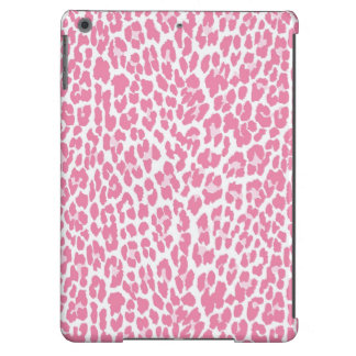 Pink Leopard Pattern Case For iPad Air