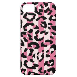 Pink Leopard Pattern iPhone5 Case