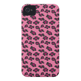 Pink Leopard Print Case-Mate iPhone 4 Cases