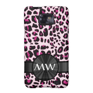 Pink leopard print samsung galaxy s2 cover
