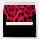"""""""Pink Leopard Print"""" Envelope"""