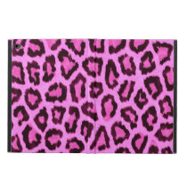 Pink leopard print pattern powis iPad air 2 case