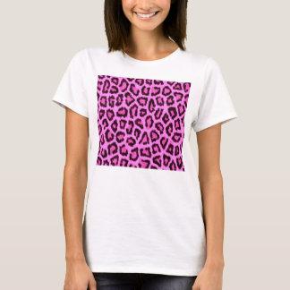 Pink leopard print pattern T-Shirt