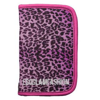 Pink Leopard Print Planner
