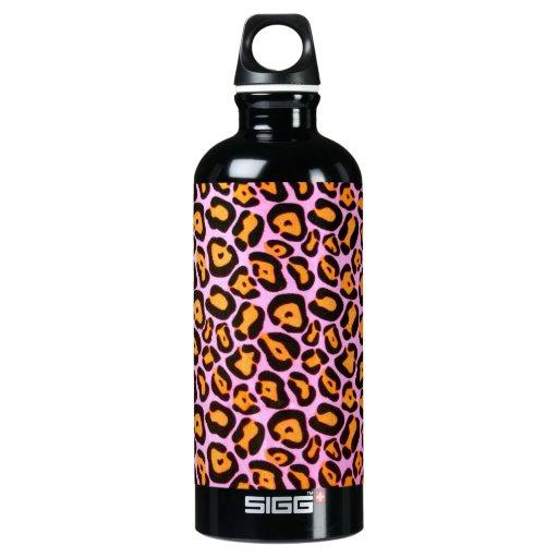 Pink Leopard Print SIGG Traveler 0.6L Water Bottle