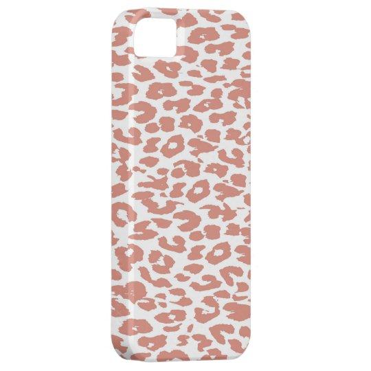 Pink Leopard Print Skin iPhone SE/5/5s Case