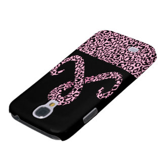 Pink Leopard Print Skins, Cases & Gifts Samsung Galaxy S4 Cover