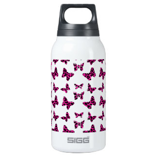Pink Leopard Spots Butterflies Pattern SIGG Thermo 0.3L Insulated Bottle