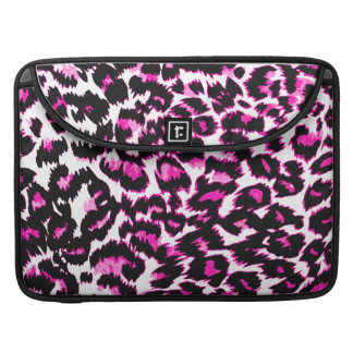 Pink Leopard Spots Sleeves For MacBooks