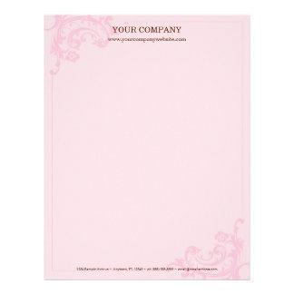 Pink Letterhead