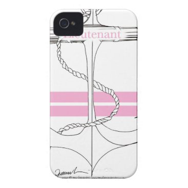 Beach Themed pink lieutenant, tony fernandes iPhone 4 Case-Mate case