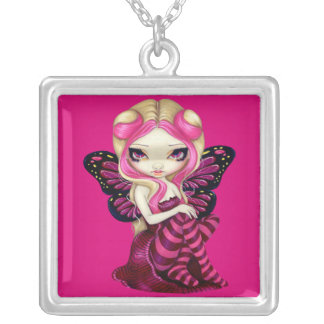 Pink Lightning NECKLACE fairy fantasy cute