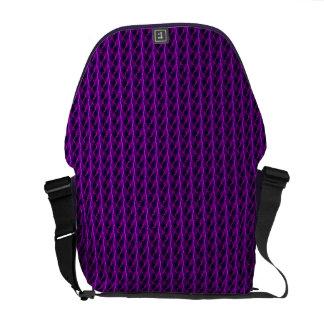 Pink Lightning Rickshaw Messenger Bag