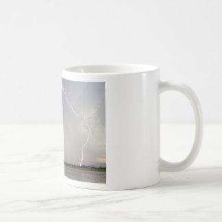 Pink Lightning Strikes Coffee Mug