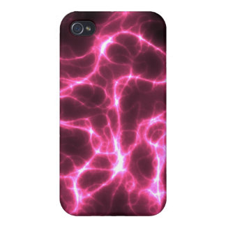 Pink Lightnings Cases For iPhone 4