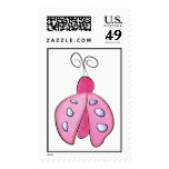 Pink Lil Ladybug Postage