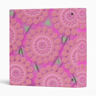 pink @ lilac binder