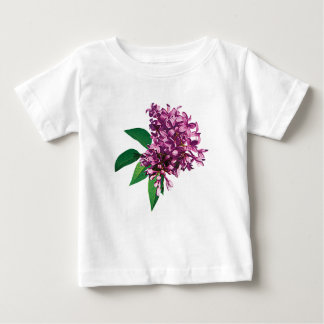 Pink Lilac Cluster Infants T-shirts