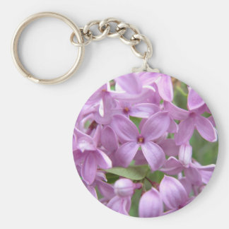 Pink Lilac Keychain