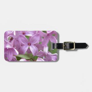 Pink Lilac Bag Tags