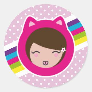 pink lilith's sticker