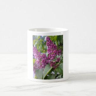 Pink lillà classic white coffee mug