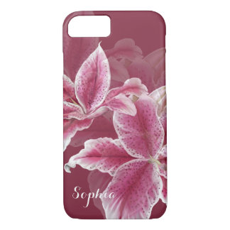 Pink Lillies iPhone 8/7 Case