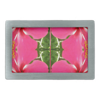 Pink Lilly Lily Flowers FUN TEMPLATE Resellers Belt Buckle